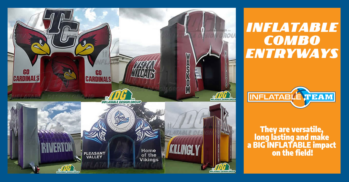 Inflatable Combos and Entryways