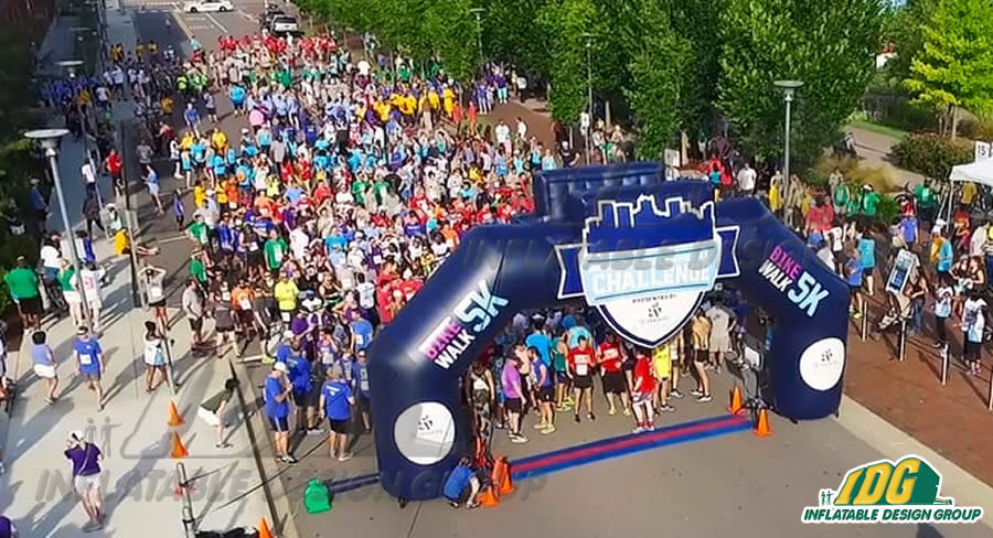 Inflatable 5K Arch