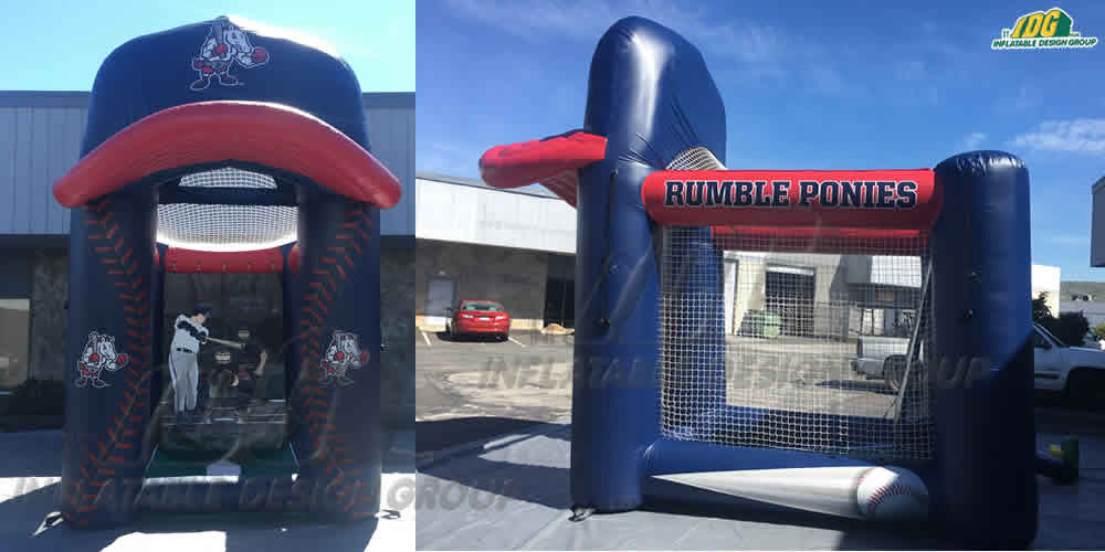 custom inflatables flat top baseball
