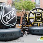 Custom Inflatable Giant Logo for Bruins and NHL