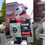 Custom Inflatable Giant Mascots for Sports and Schools