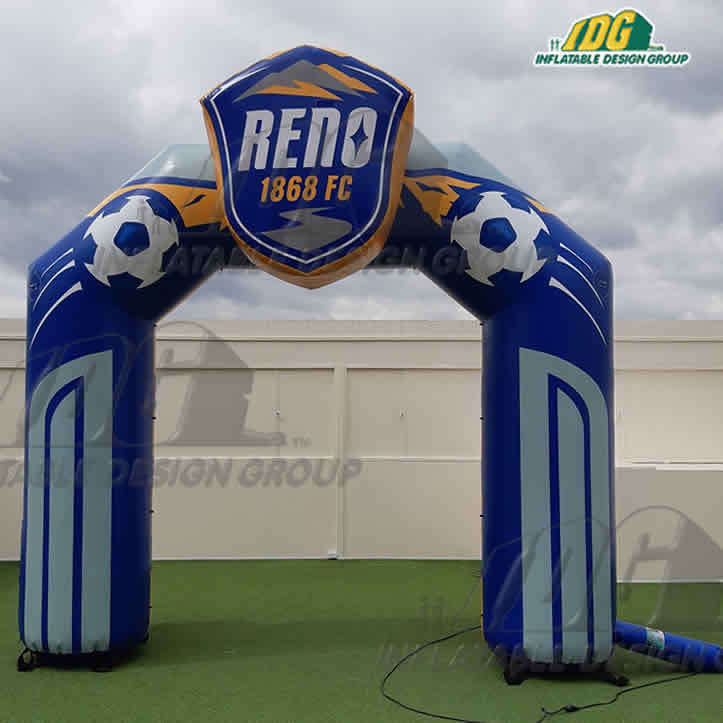Custom Soccer inflatable archway or entryway