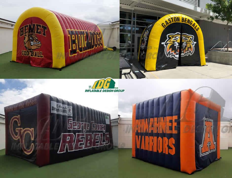 custom inflatable tunnels