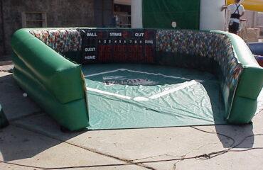 inflatable wiffle ball baseball field