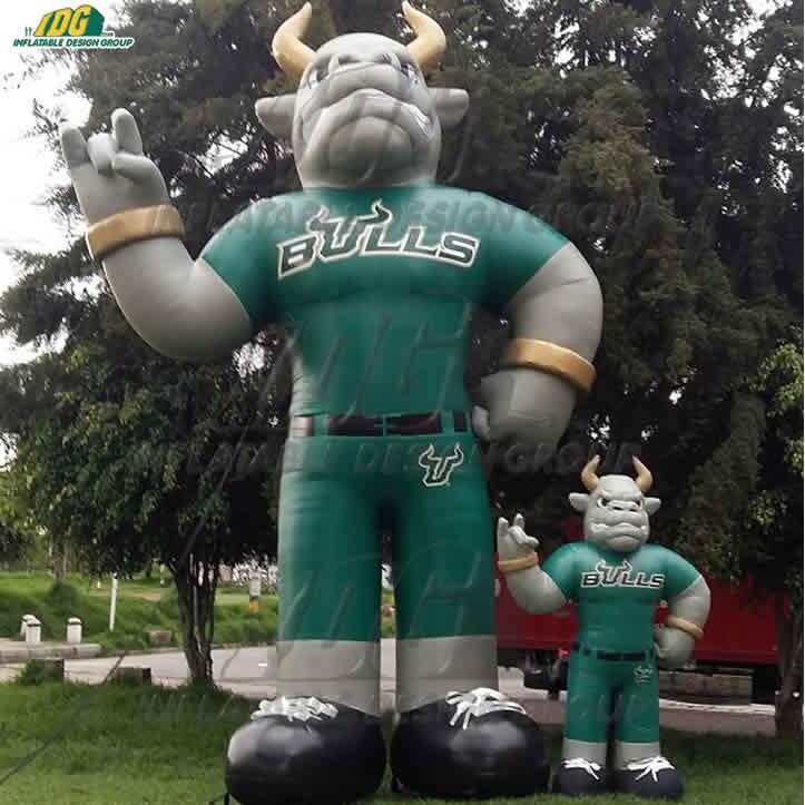 big and small custom inflatable mascot