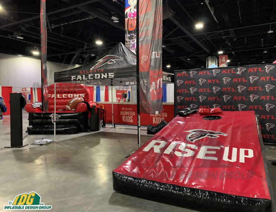 Atlanta Falcons Custom Inflatables and Promotional materials
