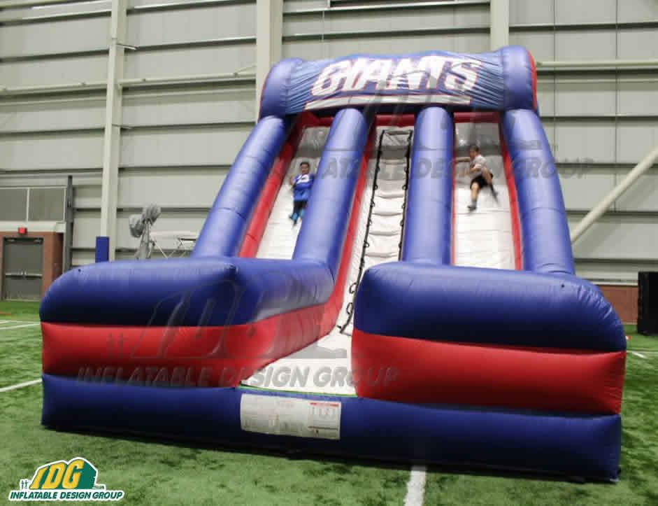 nfl new york giants custom inflatable slide