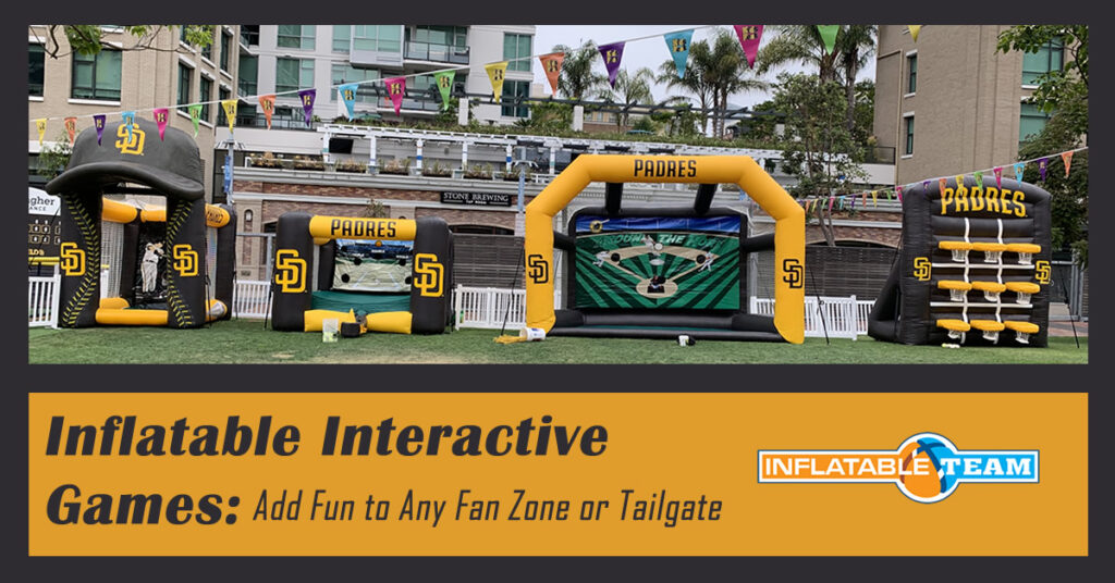 custom inflatable interactive games
