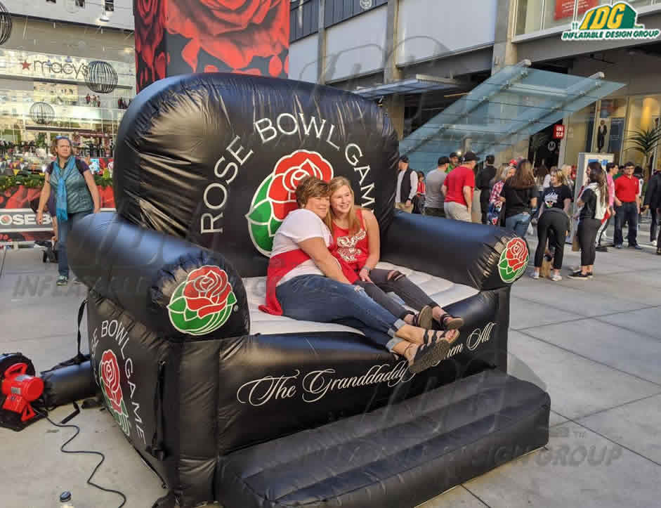 rose bowl football game custom sports inflatables