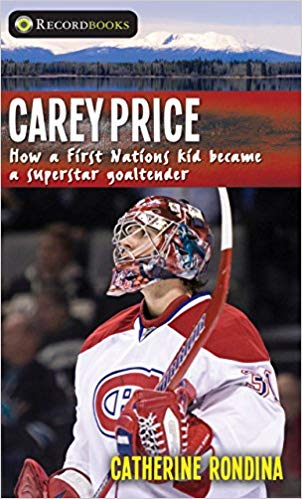 Book Cover of Carey Price biography from Lorimer Press