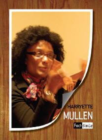 Harryette Mullen Poetry Trading Card