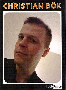 Christian Bøk Poetry Trading Card