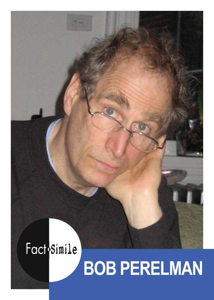 Bob Perelman Poetry Trading Card