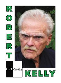 Robert Kelly Poetry Trading Card