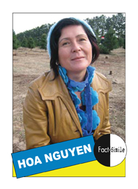 Hoa Nguyen Poetry Trading Card
