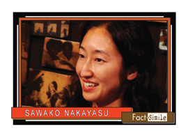 Sawako Nakayasu Poetry Trading Card