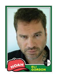 Noah Eli Gordon Poetry Trading Card