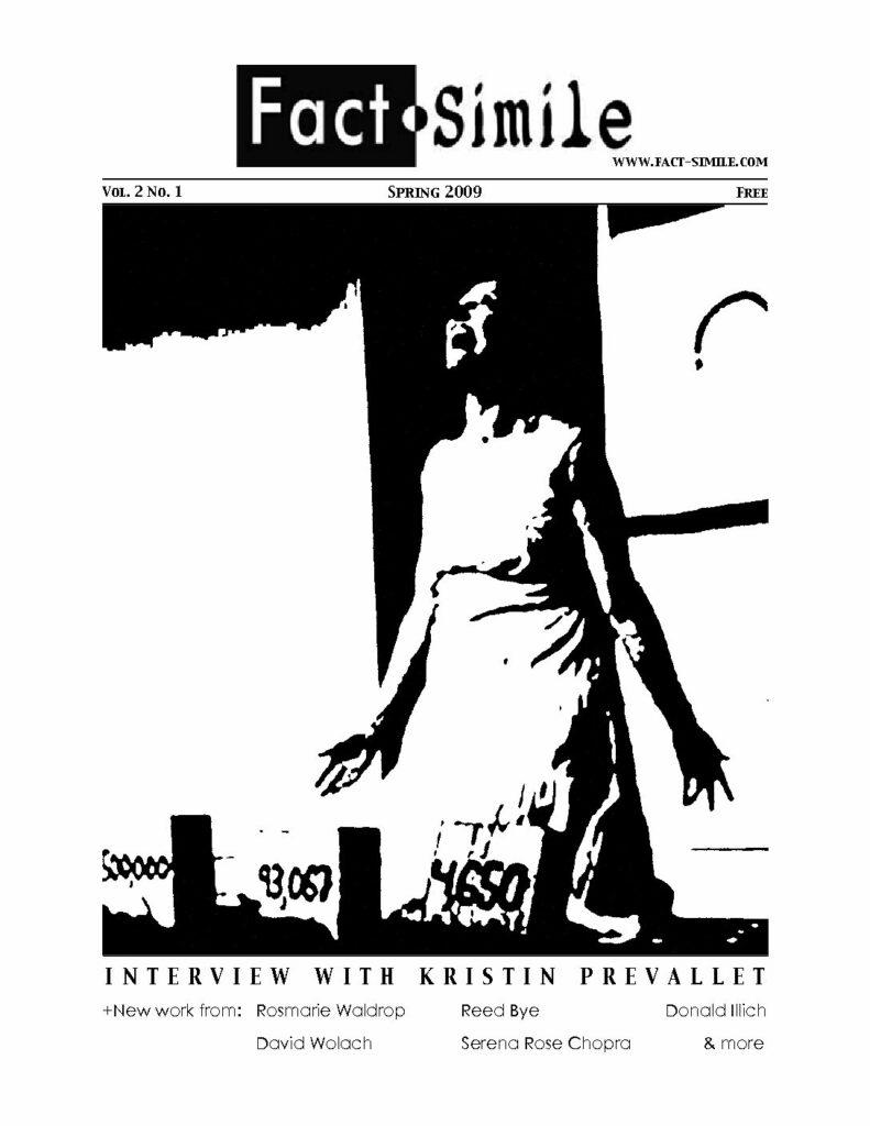 Fact-Simile 3 (2009)