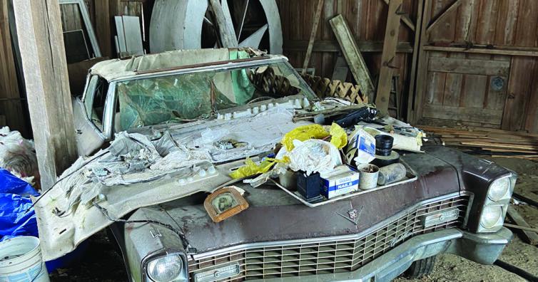 1967 Cadillac Barn Find