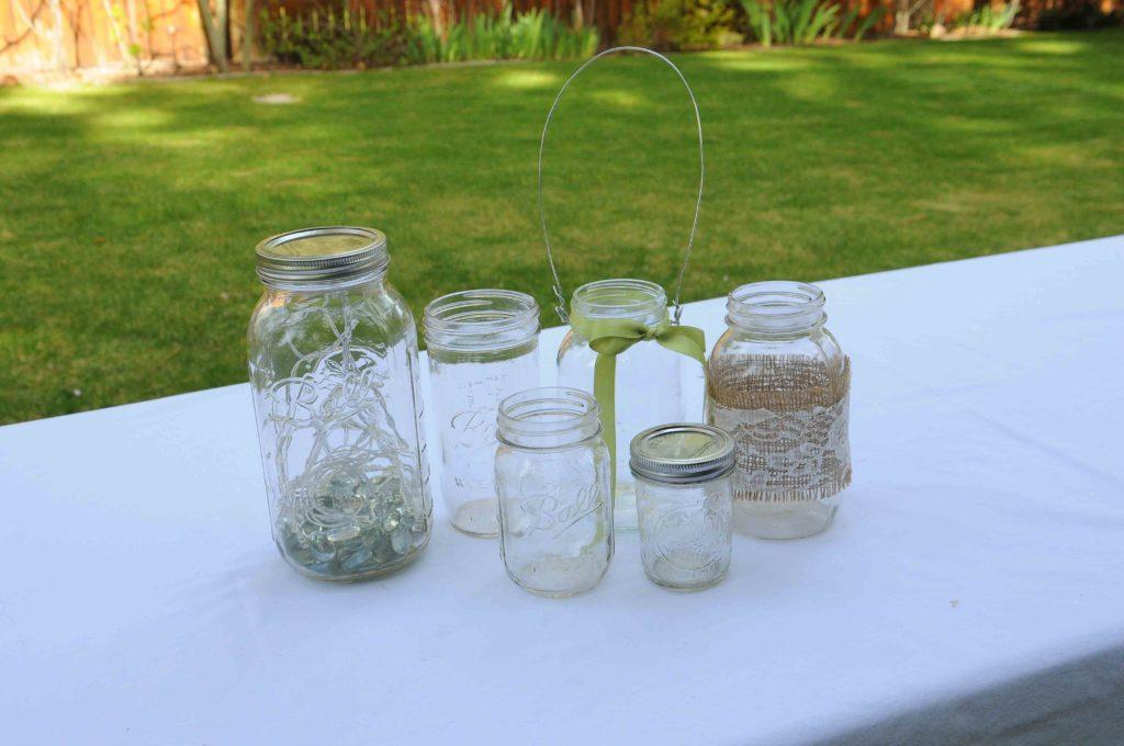 Assorted Mason jars .50-$3