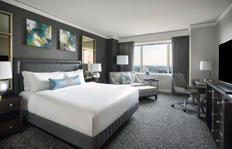 The Ritz-Carlton, Tysons Corner room view of bed