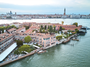 Aerial view of Belmond Hotel Cipriani