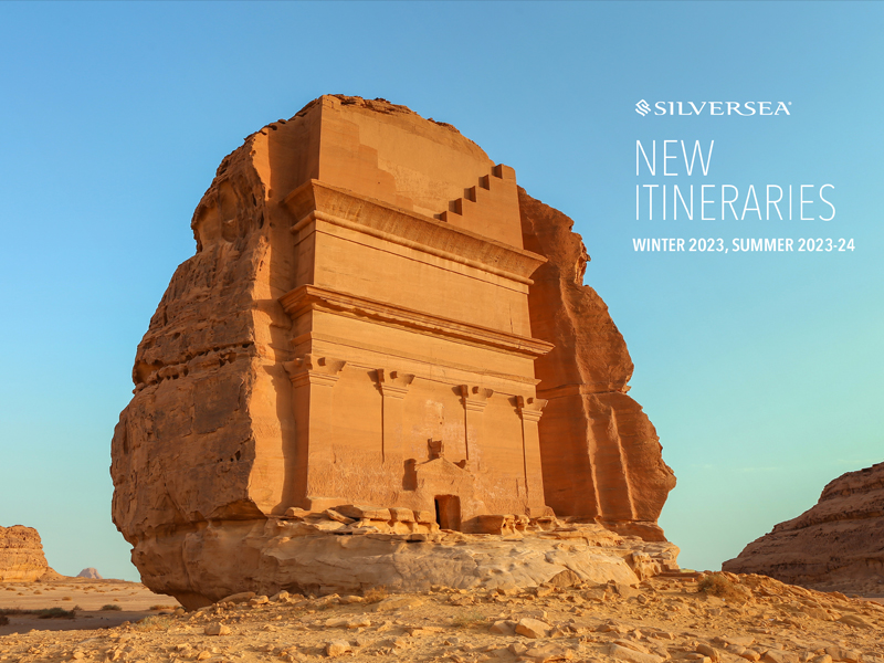 Silversea graphic for New Itineraries 2023/2024