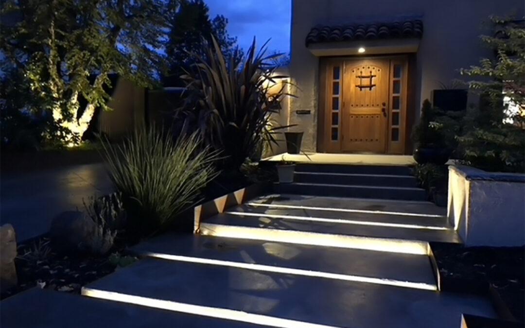 Neon Blaze Path Lighting
