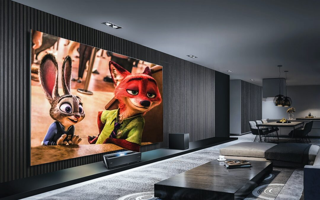 Install a Home Theater for Quarantine Life