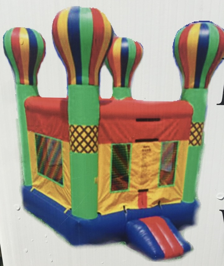 $250 901PARTIES CARNIVAL THEME BIRTHDAY PARTY BOUNCE HOUSE