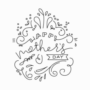 Mother's Day Vector LEttering