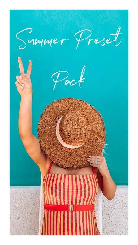 Summer Preset Pack