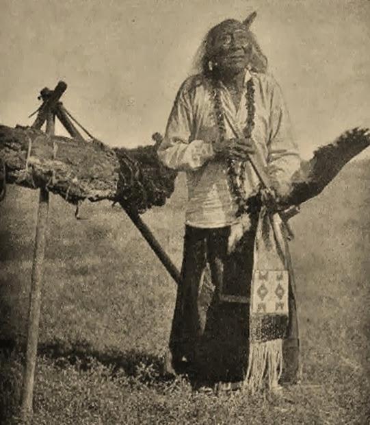 Edward S. Curtis in 1907: http://www.american-tribes.com/Lakota/BIO/ElkHead.htm