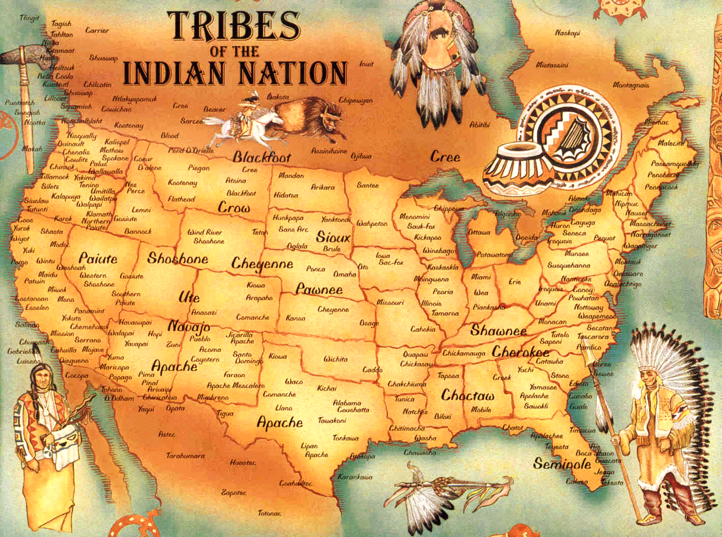 pre-contact-tribal-map