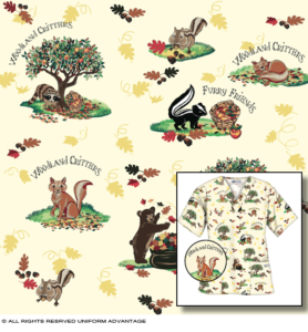 Miami Children's textile print design