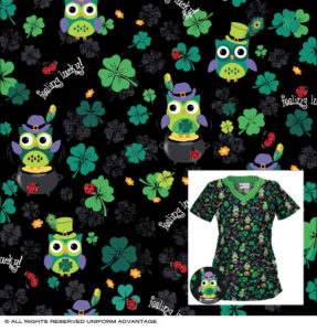 Miami St. Patricks Day textile print design tee shirt
