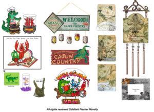 Miami souvenirs ashtrays wall plaques product design