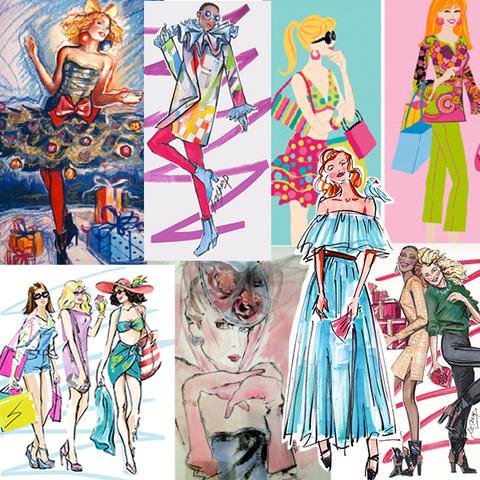 Stylized Fashion Illustration