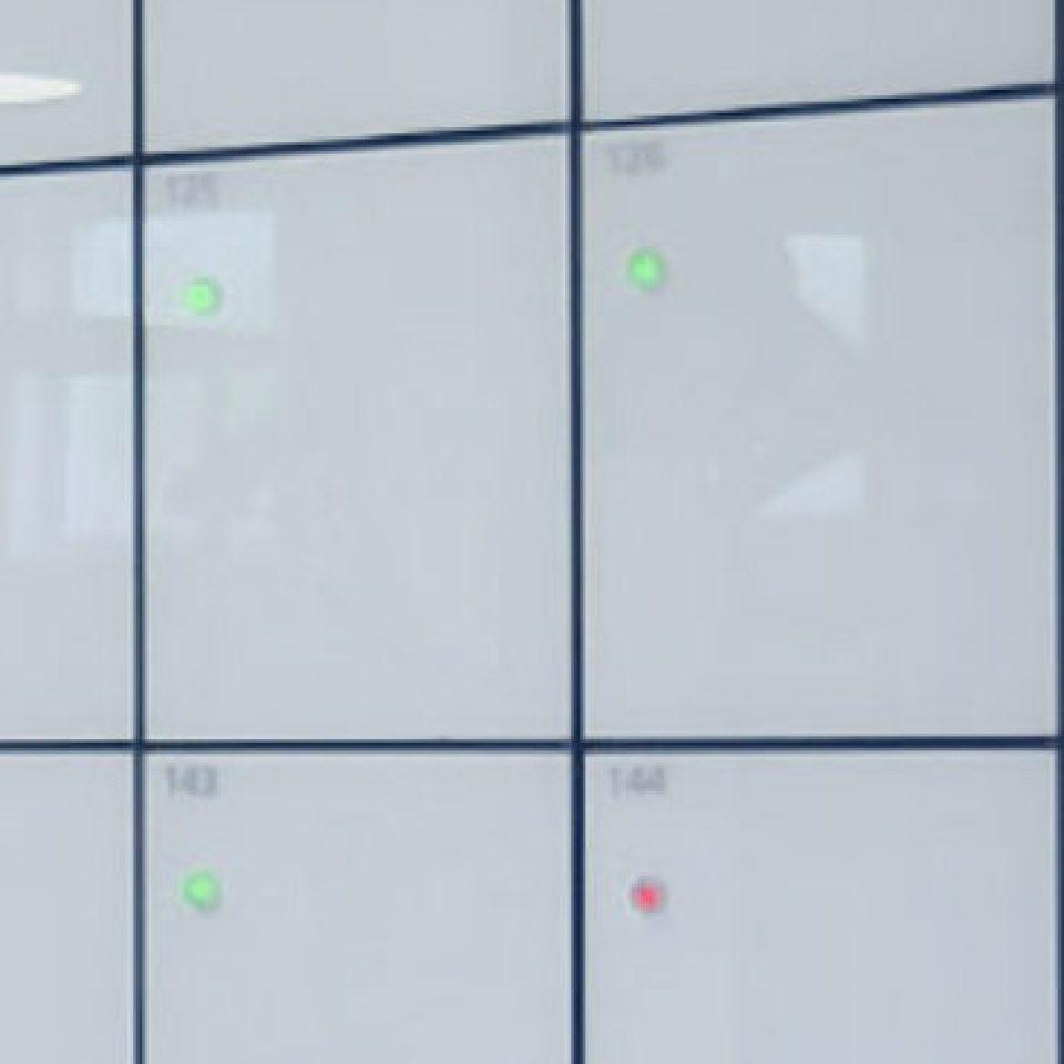 Glass Lockers (3)