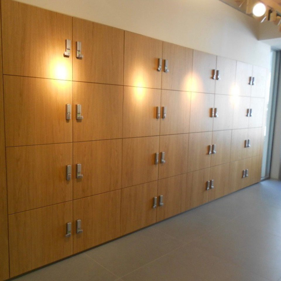 Wood Veneer Lockers (2)