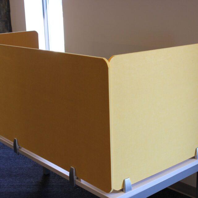 Desk Divider yellow