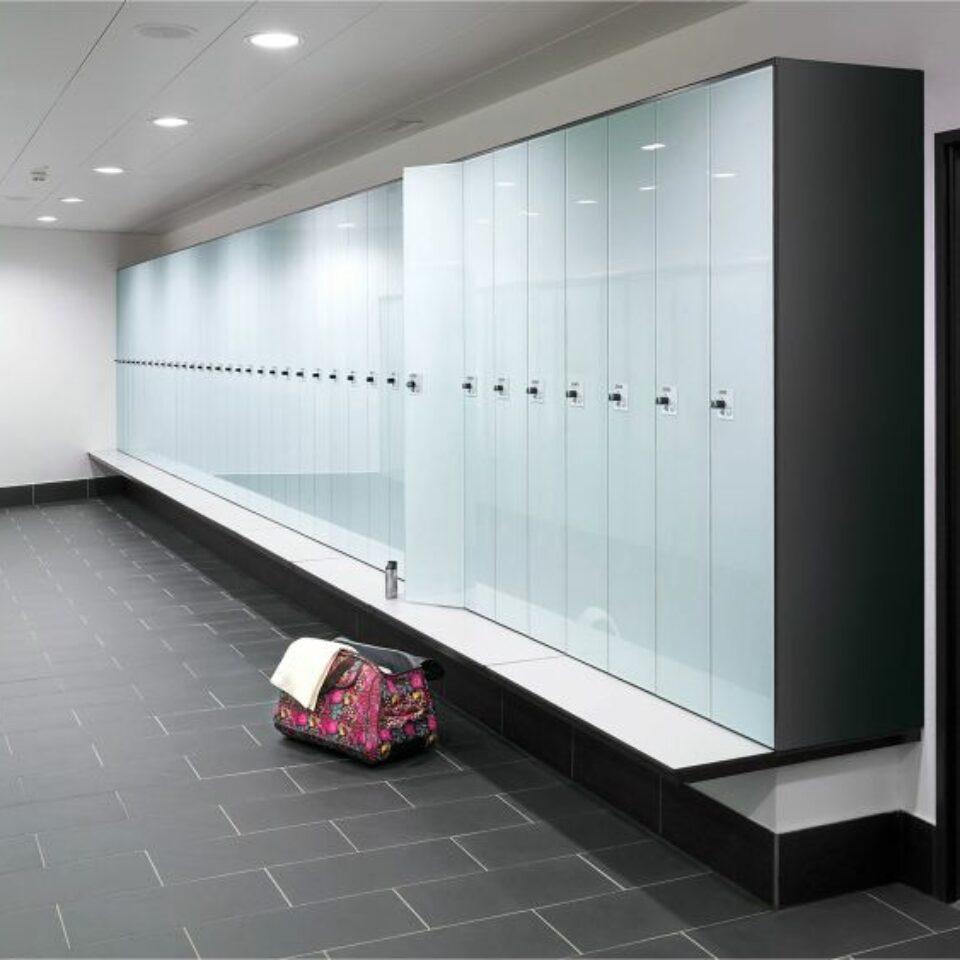 Glass Lockers (8)