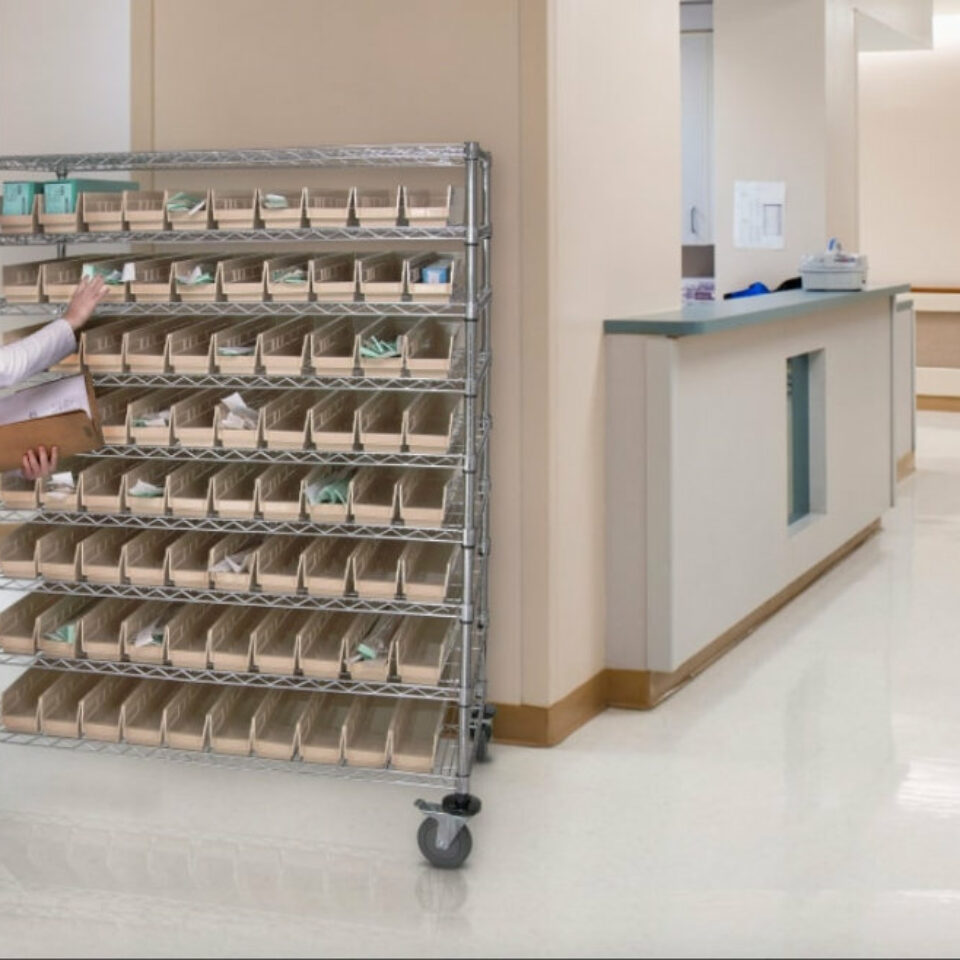 Wire Shelving (1)