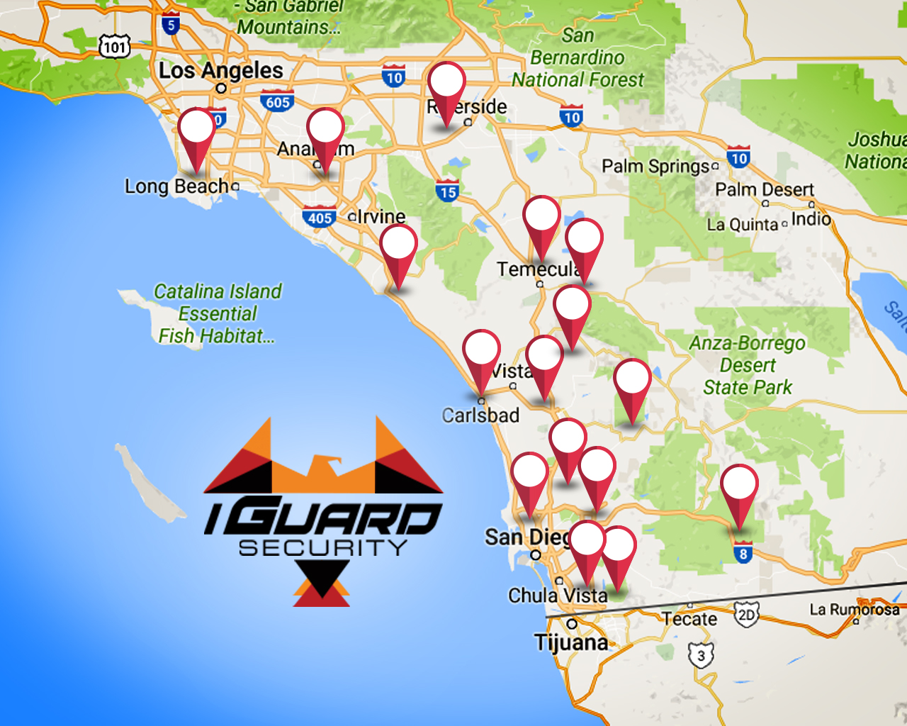 Iguard locations