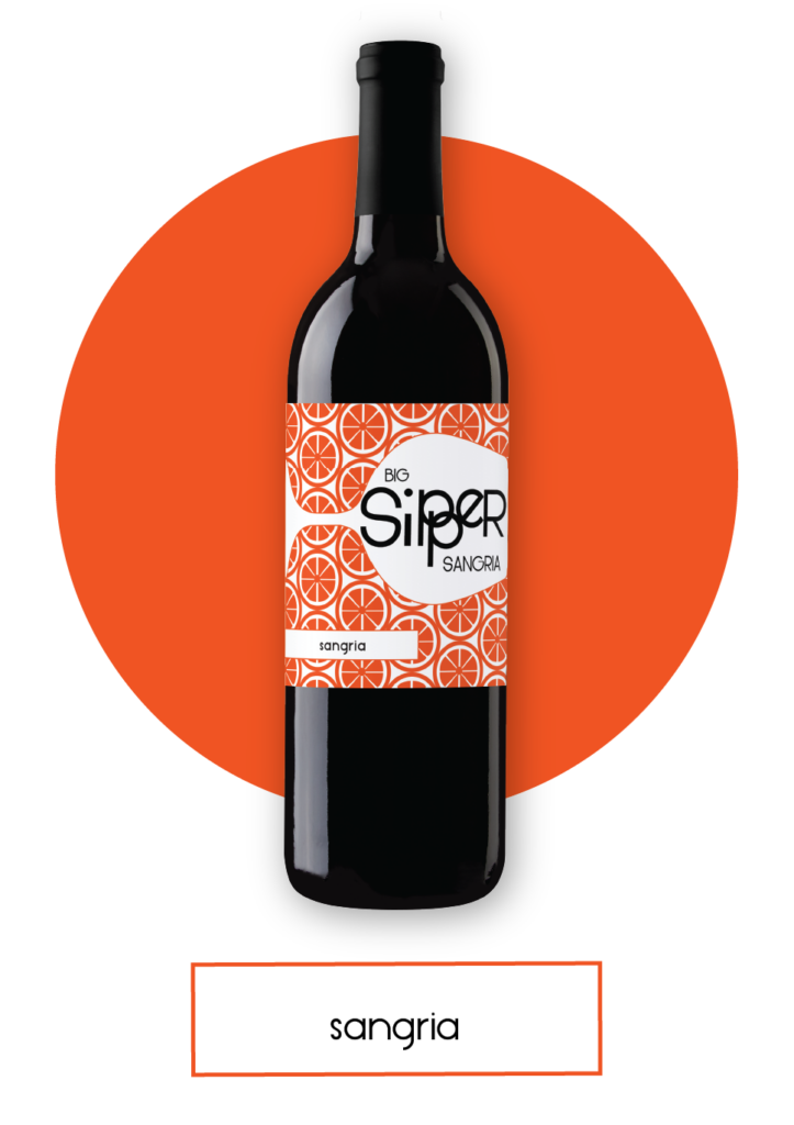 Big Sipper Sangria Bottle with Button