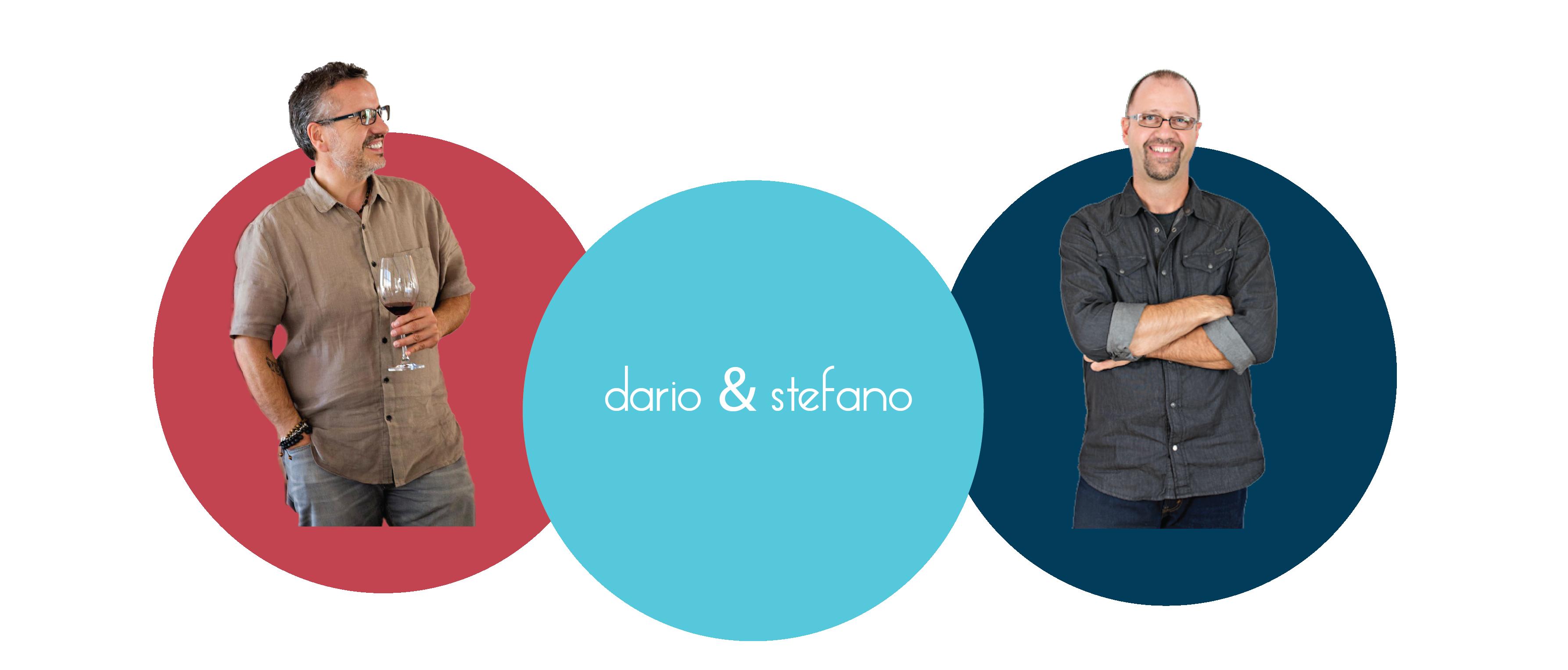 Big Sipper Winemakers Dario di Conti and Stefano Migotto