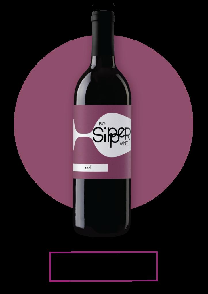 Big Sipper Red Wine Bottle