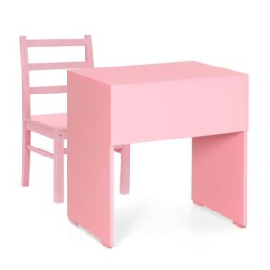 BUy kids pink study set Jfa Furniture Online