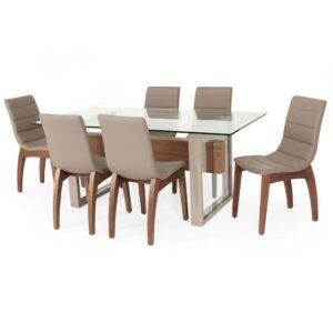 Buy Lorenzo Dining Set Online with 6 dining chair jfa furniture online