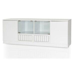 Snowy Silver Tv Unit Jfa Furniture